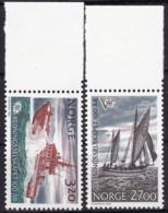Norwegen, 1991, 1066/67,  MNH **, Gesellschaft Zur Rettung Schiffbrüchiger (NSSR). - Nuevos