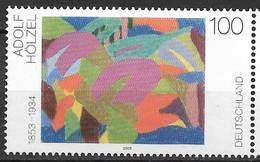 2003 Germany . Deutschland  Mi. 2316 **MNH    Komposition; Von Adolf Hölzel - Unused Stamps