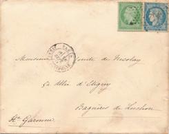 Septembre 1871 Etoile 34 (Avenue Joséphine) S Env N°s 20 Et 37 B/TB. - 1870 Siège De Paris