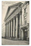 Gent L' Ancienne Universitée Briefstempel 1912 - Gent