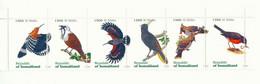 REPUBLIC OF SOMALILAND 1999, 1500 Sl. Vögel Postfr. Zusammendruck (6 W.) ABARTEN - Somalië (1960-...)