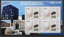 Groënland 2021, Bloc Neuf, Architecture - Blocks & Sheetlets