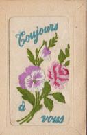 7 CARTES BRODEES - 5 - 99 Postkaarten