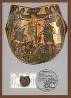 Berlin 1987  Mi.Nr. 791 , Gold- Und Silberschmiedekunst - Hagenbach Maximum Card - Erstausgabe Berlin 15.10.1987 - Cartes-Maximum (CM)
