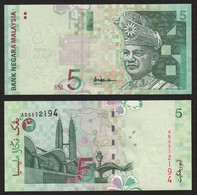 Malaysia 5 Ringgit ND1999  Prefix AB, P41a / B141a   UNC - Malaysia