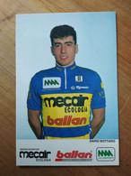 Cyclisme - Carte Publicitaire MECAIR BALLAN 1993  : BOTTARO - Ciclismo