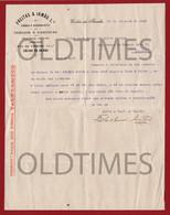 PORTUGAL - CALDAS DA RAINHA - FREITAS & IRMÃO LDA - VINHOS E AGUARDENTES - CEREAIS E FARINHAS - VINHOS VALEFORMOSO 1925 - Portugal