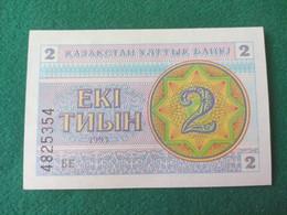 KAZAKISTAN  2 Tyin 1993 Neuf UNC - Kazakhstan