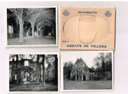 Snapshots.Abbaye De Villers.10 Photos .format 7 X 9 Centimètres. - Villers-la-Ville