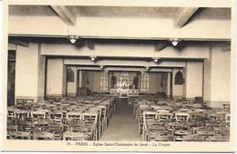 Eglise St Christophe De Javel ( XVe) - Eglise Du Passeur : La Crypte - Kirchen