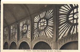 Eglise St Christophe De Javel ( XVe) - Eglise Du Passeur : Les Rosaces - Kirchen