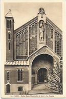 Eglise St Christophe De Javel ( XVe) - Eglise Du Passeur : La Façade - Kirchen
