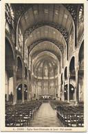 Eglise St Christophe De Javel ( XVe) - Eglise Du Passeur : Nef Centrale - Kirchen