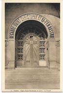 Eglise St Christophe De Javel ( XVe) - Eglise Du Passeur : Le Portail - Kirchen