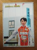 Cyclisme - Carte Publicitaire LORENA 2001 :  Zoulfia ZABIROVA - Cycling