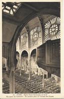 Eglise St Christophe De Javel ( XVe) - Eglise Du Passeur :  Un Aspect Intérieur, Au Premier Plan La Tribune Des Orgues - Kirchen