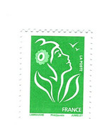 Lamouche TVP Vert Philaposte YT 3733d Sans Phospho . Rare , Voir Le Scan . Cote YT : 60 € , Maury N° 3957b : 90 € . - Abarten: 2000-09 Ungebraucht