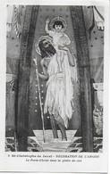 Eglise St Christophe De Javel ( XVe) - Décoration De L'abside : Le Porte-Christ Dans La Gloire Du Ciel - Kirchen