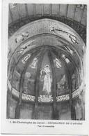 Eglise St Christophe De Javel ( XVe) - Décoration De L'abside : Vue D'ensemble - Kirchen