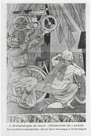 Eglise St Christophe De Javel ( XVe) - Décoration De L'abside : Les Cyclistes Et Motocyclistes Offrent Leurs Hommages - Kirchen