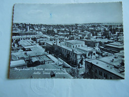 C.P.A. \P.C \KP. SOMALIA SOMALIE - - EX COLONIE ITALIANA -  MOGADISCIO PANORAMA DALLA TORRE CAMPANARIA DUOMO - Libya