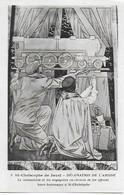 Eglise St Christophe De Javel ( XVe) - Décoration De L'abside : Mécanicien Et Voyageurs Offrent Leurs Hommages - Kirchen