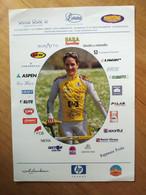 Cyclisme - Carte Publicitaire SAFI PASTA ZARA 2005 :  Priska DOPPMANN - Cycling