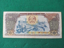 LAOS 500 KIP 1988 - Laos