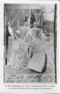 Eglise St Christophe De Javel ( XVe) - Décoration De L'abside : Les Voituriers Offrent Leurs Hommages à St Christophe - Kirchen
