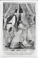 Eglise St Christophe De Javel ( XVe) - Décoration De L'abside : Les Piétons Offrent Leurs Hommages à St Christophe - Kirchen
