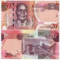 Botswana 20 Pula 2009 Pick 31a UNC - Botswana