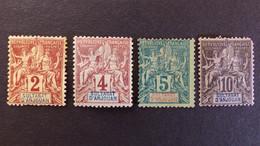 Anjouan - YT N° 2 - 3 - 4 - 5 * Neuf Avec Charnière - Unused Stamps