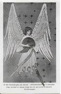 Eglise St Christophe De Javel ( XVe) - Décoration De L'abside : Ange Portant Le Casque Rougi Ayant Servi à Torturer - Kirchen