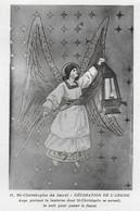 Eglise St Christophe De Javel ( XVe) - Décoration De L'abside : Ange Portant La Lanterne Servant à Traverser Le Fleuve - Kirchen