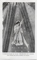 Eglise St Christophe De Javel ( XVe) - Décoration De L'abside : Ange Portant Une Palme Emblème Du Martyre - Kirchen