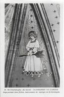 Eglise St Christophe De Javel ( XVe) - Décoration De L'abside : Ange Portant Les Flèches Instruments Du Martyre - Kirchen