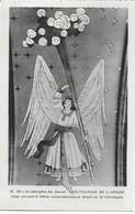 Eglise St Christophe De Javel ( XVe) - Décoration De L'abside : Ange Portant La Bâton Miraculeusement Fleuri Du Saint - Kirchen