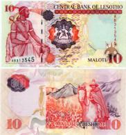 Lesotho 10 Maloti  2009  Pick 15 UNC - Lesotho