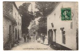 Landevennec - Entrée De L'église - Landévennec