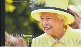 GRAN BRETAGNA 2016 THE QUEEN 'S 90TH BIRTHDAY   PRESTIGE BOOKLET SG DY17 MNH - Carné