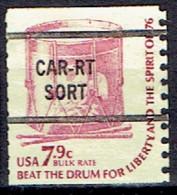 UNITED STATES #  FROM 1976  STAMPWORLD 1412 - Oblitérés