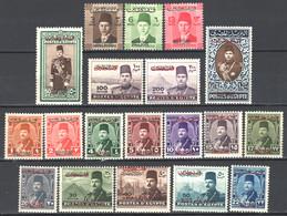 Palestina Occ.Egiziana 1948 Y.T.1/19 */MH  VF/F - Palestina