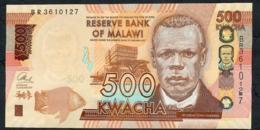 MALAWI  P66b  500 KWACHA  1.1.2017   #BR    UNC - Malawi