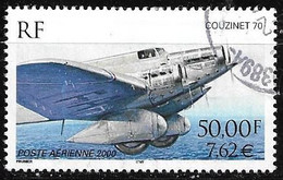 France Poste Aérienne 64 Couzinet 70  2000 Oblitéré - 1960-.... Used