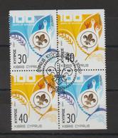 Europa 2007 Chypre 1109-1110 Issu Carnet Oblit. Used - 2007