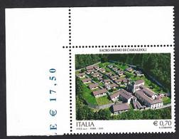 Italia 2013; Eremo Di Camaldoli, Francobollo Di Angolo Superiore. - 2011-...: Mint/hinged