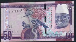 GAMBIA P34 50 DALASI 2015 #A      UNC. - Gambia