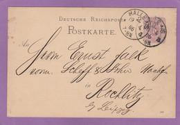 A. RIEBECK'SCHE MONTAN-WERKE A.G. HALLE A/S . - Interi Postali