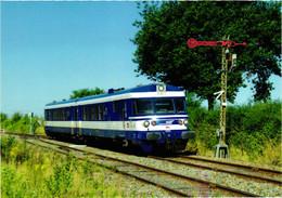 Matériel - Rame X1501-1502 Diesel Turbotrain - Ligne Paris-le Tréport - Materiaal