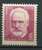 21134 FRANCE N°304**(MNH) 1F25 Cinquantenaire De La Mort De Victor Hugo (1802-1885)  1935  TB - Unused Stamps